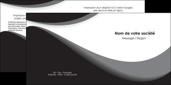 impression depliant 2 volets  4 pages  texture contexture structure MIF47973