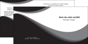 impression depliant 2 volets  4 pages  texture contexture structure MLIG47973