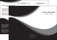 Commander Plaquette entreprise  papier publicitaire et imprimerie Dépliant 6 pages pli accordéon DL - Portrait (10x21cm lorsque fermé)