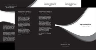 maquette en ligne a personnaliser depliant 4 volets  8 pages  texture contexture structure MLIG48007