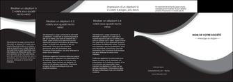 personnaliser modele de depliant 4 volets  8 pages  texture contexture structure MLIG48009