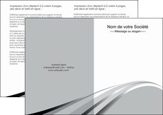 impression depliant 2 volets  4 pages  texture contexture structure MLIG48013