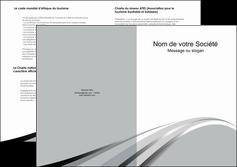 exemple depliant 2 volets  4 pages  texture contexture structure MLIG48015