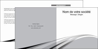 modele depliant 2 volets  4 pages  texture contexture structure MLIG48017