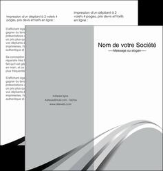 imprimerie depliant 2 volets  4 pages  texture contexture structure MLIG48019