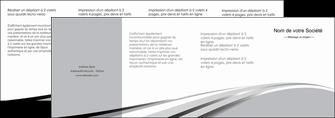 imprimerie depliant 4 volets  8 pages  texture contexture structure MLIG48049
