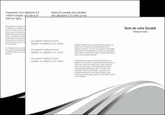 modele en ligne depliant 3 volets  6 pages  texture contexture structure MLIG48055