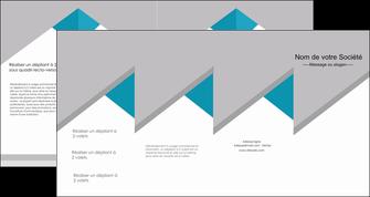 cree depliant 4 volets  8 pages  texture contexture structure MIS48097