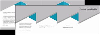 imprimerie depliant 4 volets  8 pages  texture contexture structure MIS48099