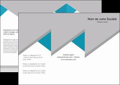 cree depliant 3 volets  6 pages  texture contexture structure MIS48109
