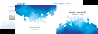 modele en ligne depliant 2 volets  4 pages  texture contexture structure MIF48215