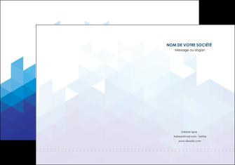 personnaliser maquette pochette a rabat texture contexture structure MIF48219