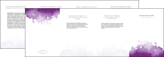 imprimerie depliant 4 volets  8 pages  texture contexture structure MIF48371