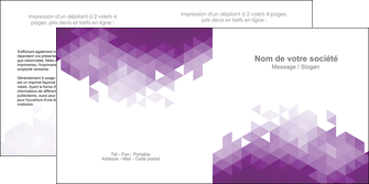 impression depliant 2 volets  4 pages  texture contexture structure MIF48383
