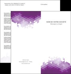 impression depliant 2 volets  4 pages  texture contexture structure MIF48385