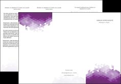 imprimer depliant 3 volets  6 pages  texture contexture structure MIF48387