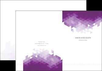 creer modele en ligne pochette a rabat texture contexture structure MIF48401