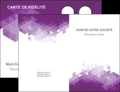 imprimer carte de visite texture contexture structure MIF48405