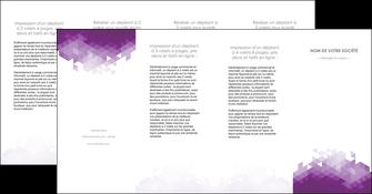 creation graphique en ligne depliant 4 volets  8 pages  texture contexture structure MIF48417