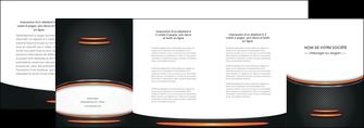 faire modele a imprimer depliant 4 volets  8 pages  texture contexture structure MLIG49035