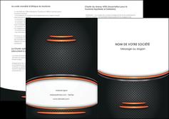 faire modele a imprimer depliant 2 volets  4 pages  texture contexture structure MLIG49037