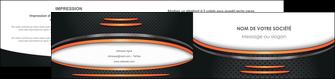 personnaliser maquette depliant 2 volets  4 pages  texture contexture structure MLGI49041
