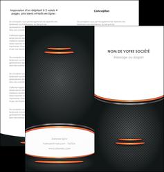 creation graphique en ligne depliant 2 volets  4 pages  texture contexture structure MLIG49049