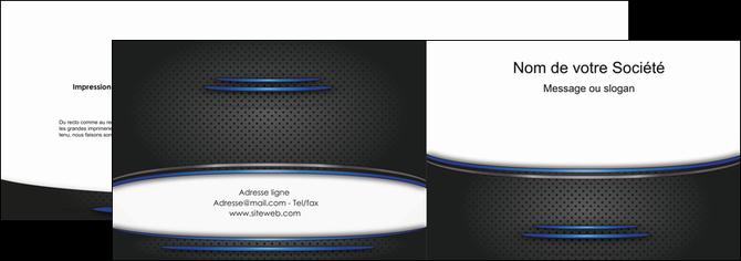 faire modele a imprimer depliant 2 volets  4 pages  texture contexture structure MIF49085
