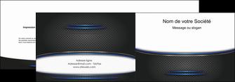 faire modele a imprimer depliant 2 volets  4 pages  texture contexture structure MLIG49085