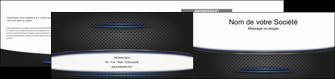 creer modele en ligne depliant 2 volets  4 pages  texture contexture structure MLIG49091
