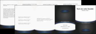 imprimer depliant 4 volets  8 pages  texture contexture structure MIF49119