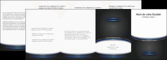 personnaliser maquette depliant 4 volets  8 pages  texture contexture structure MIF49121