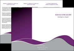 modele depliant 3 volets  6 pages  texture contexture structure MLGI49315