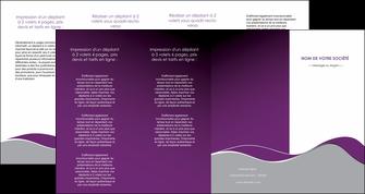 impression depliant 4 volets  8 pages  texture contexture structure MLGI49335