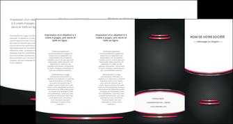 imprimerie depliant 4 volets  8 pages  texture contexture structure MIF49497