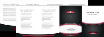 creer modele en ligne depliant 4 volets  8 pages  texture contexture structure MIF49499