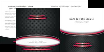 imprimer depliant 2 volets  4 pages  texture contexture structure MIF49511