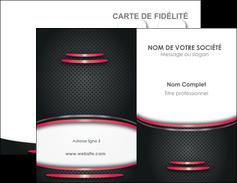 Impression impression carte de viste avec pelliculage mat  Carte commerciale de fidélité papier à prix discount et format Carte de visite Double - Portrait