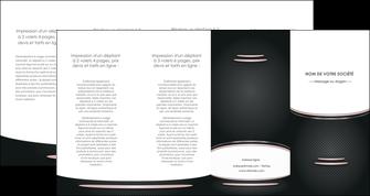 maquette en ligne a personnaliser depliant 4 volets  8 pages  texture contexture structure MIF49875