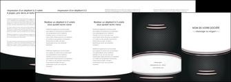 imprimer depliant 4 volets  8 pages  texture contexture structure MIF49877
