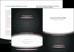 maquette en ligne a personnaliser depliant 2 volets  4 pages  texture contexture structure MIF49881