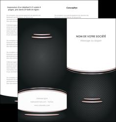 creation graphique en ligne depliant 2 volets  4 pages  texture contexture structure MLGI49891