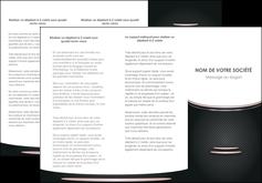 imprimer depliant 3 volets  6 pages  texture contexture structure MIF49893