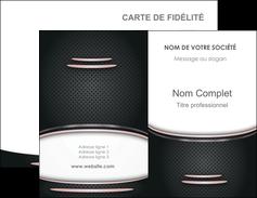 Impression imprimerie carte à gratter  Carte commerciale de fidélité imprimerie-carte-a-gratter Carte de visite Double - Portrait