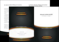 imprimer depliant 2 volets  4 pages  texture contexture structure MIF49933