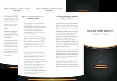 imprimerie depliant 3 volets  6 pages  texture contexture structure MLIG49945