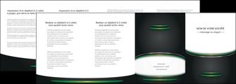 personnaliser modele de depliant 4 volets  8 pages  texture contexture structure MLGI49981