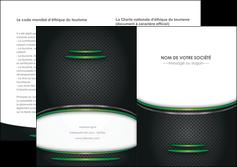 faire modele a imprimer depliant 2 volets  4 pages  texture contexture structure MLGI49985