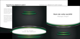 imprimerie depliant 2 volets  4 pages  texture contexture structure MLGI49993