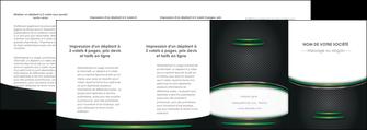 imprimer depliant 4 volets  8 pages  texture contexture structure MLIG50027